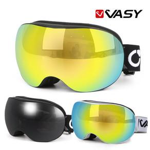 V02 고글/더블랜즈/스키고글/보드고글/안경병용, V02-블랙GRV